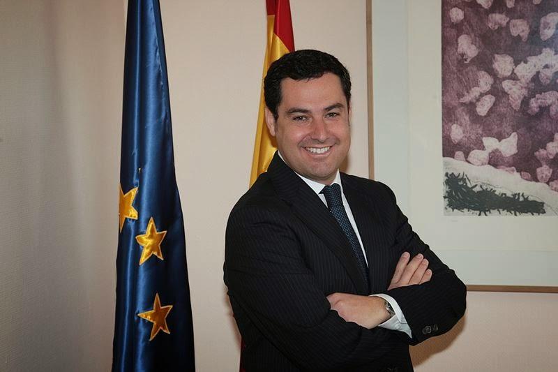 Juan Manuel Moreno Bonilla, Presidente del Partido Popular de Andalucía