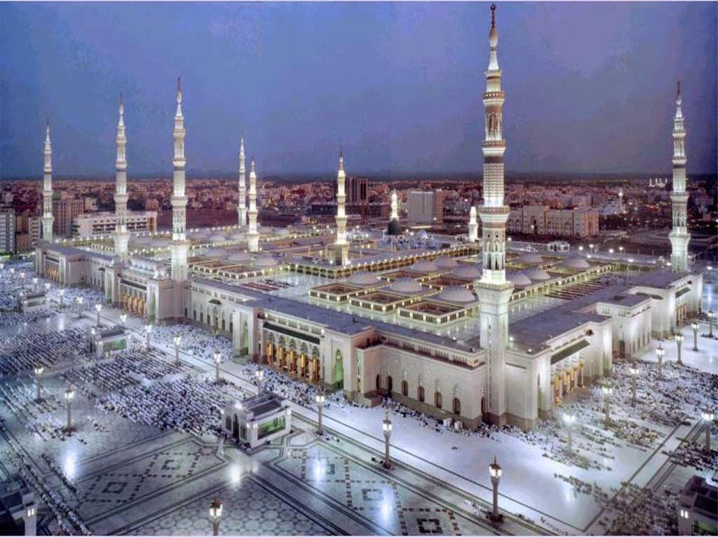 Mezquita del Profeta en Medina