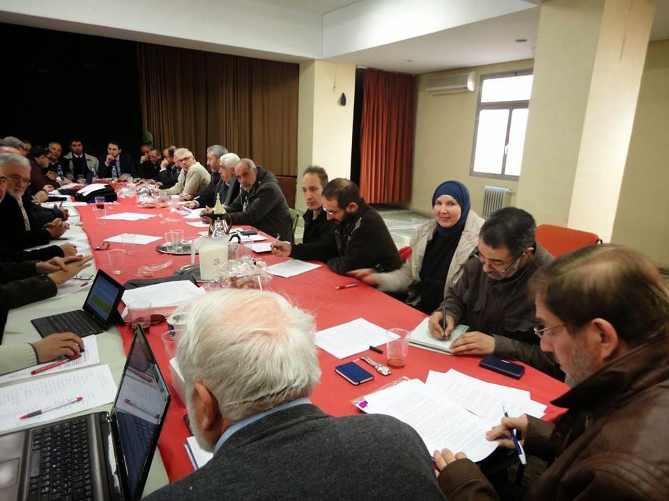 الاجتماع الإستثنائي الأول لمجلس شورى اتحاد الجمعيات الاسلامية بإسبانيا لعام 2015