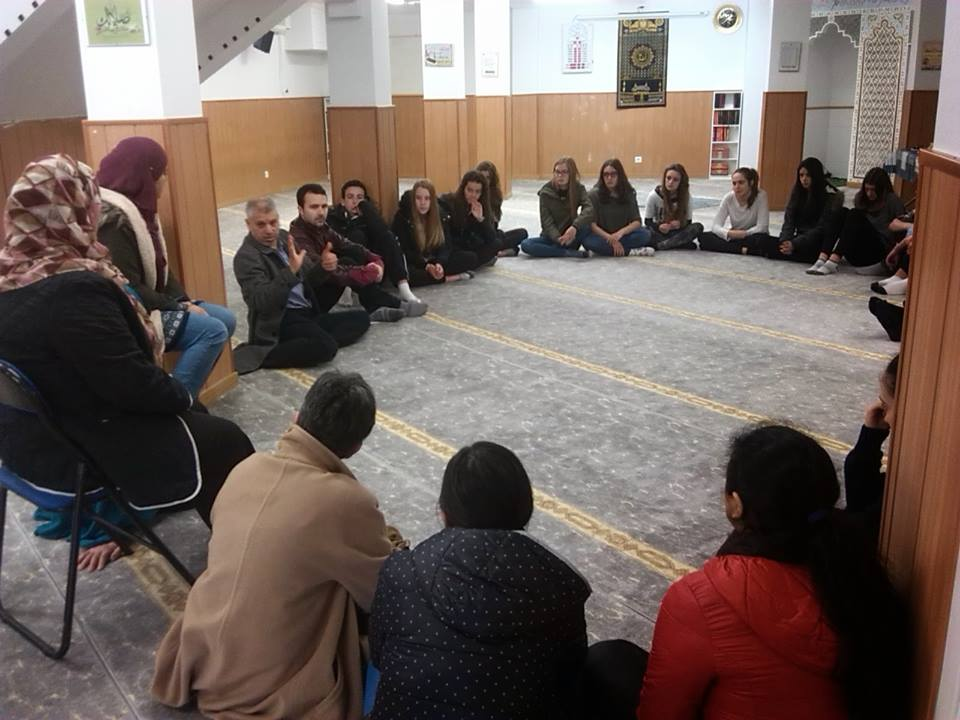 زيارات مدرسية إلى مسجد السلام في بلباو