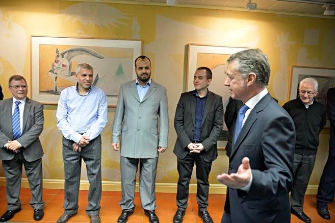 Urkullu y líderes religiosos firman una declaración por la tolerancia