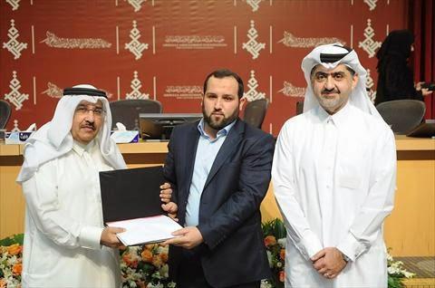 Argelino gana el premio de Abdallah Abdel Gani para le creatividad intelectual