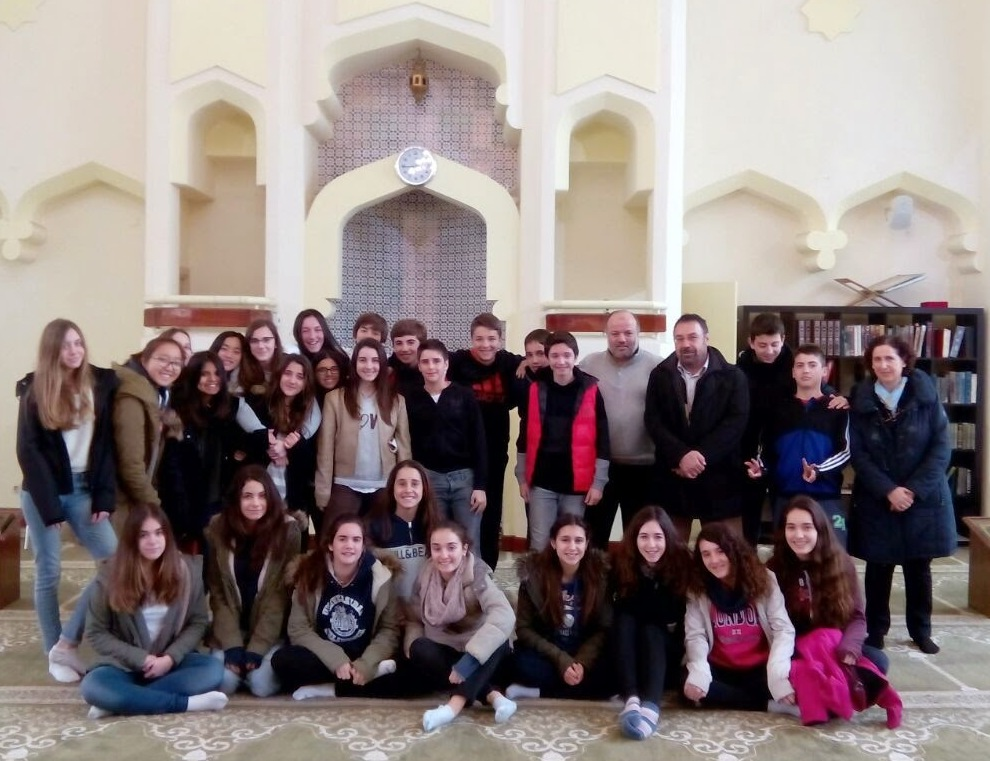 Visita escolar a la Mezquita Central de Madrid