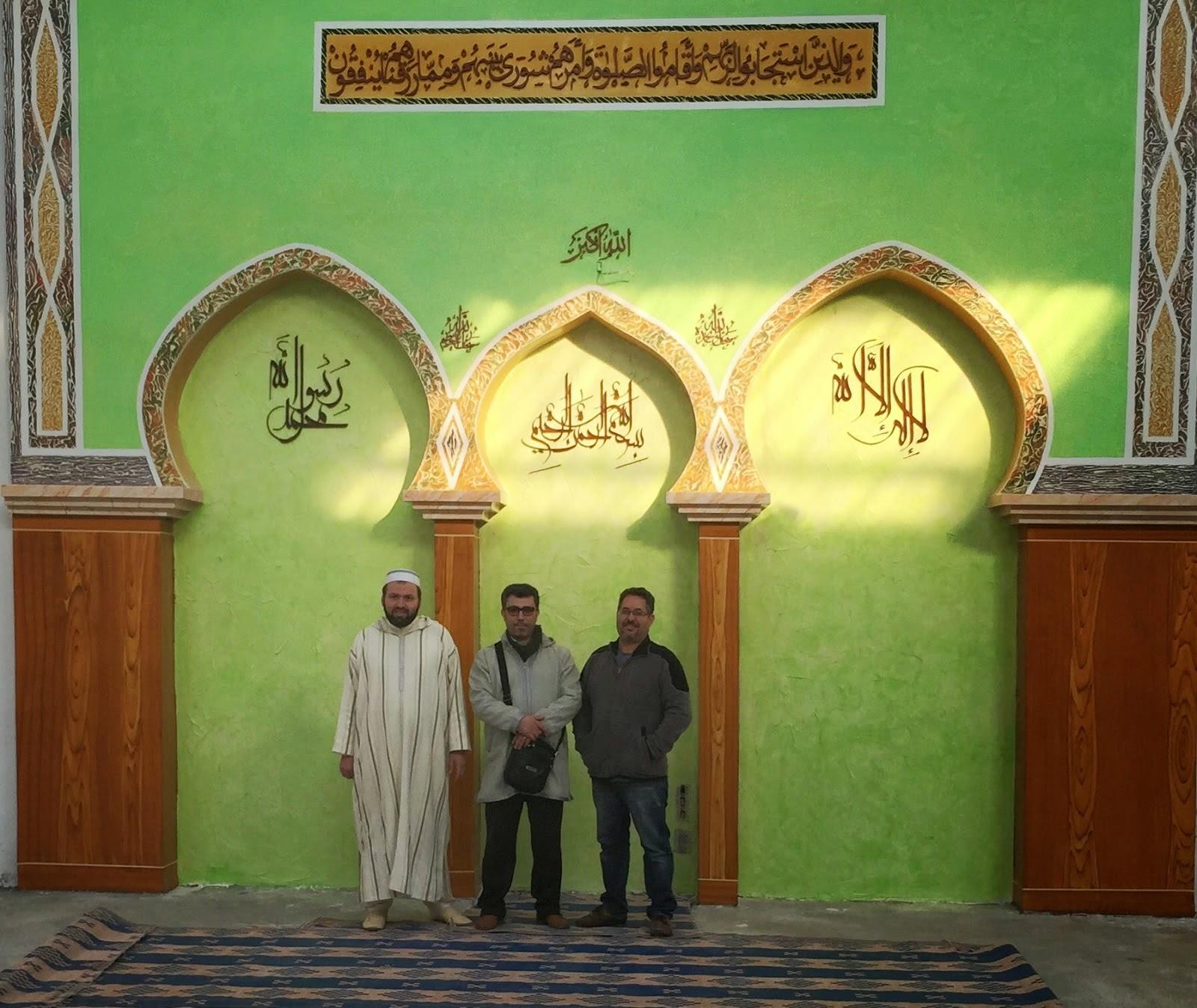 Ghaidouni visita la nueva sede de la Comunidad Islámica Achoura de Granollers