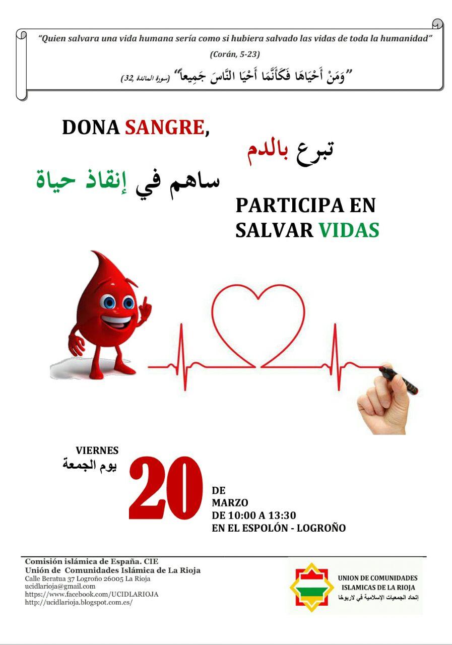 Campaña para donar sangre en Logroño