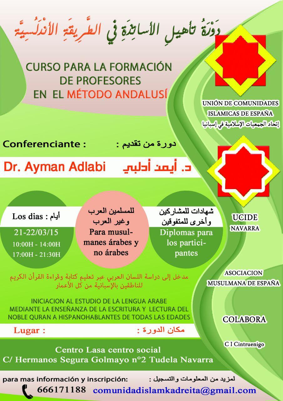 Navarra acoge el método Andalusí para la enseñanza del Corán