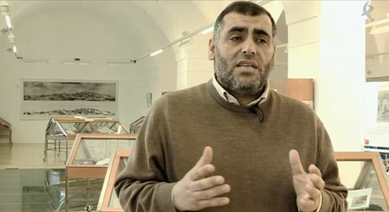 imam de Badajoz, y presidente de la Unión de Comunidades Islámicas de Extremadura, Adel Najjar.