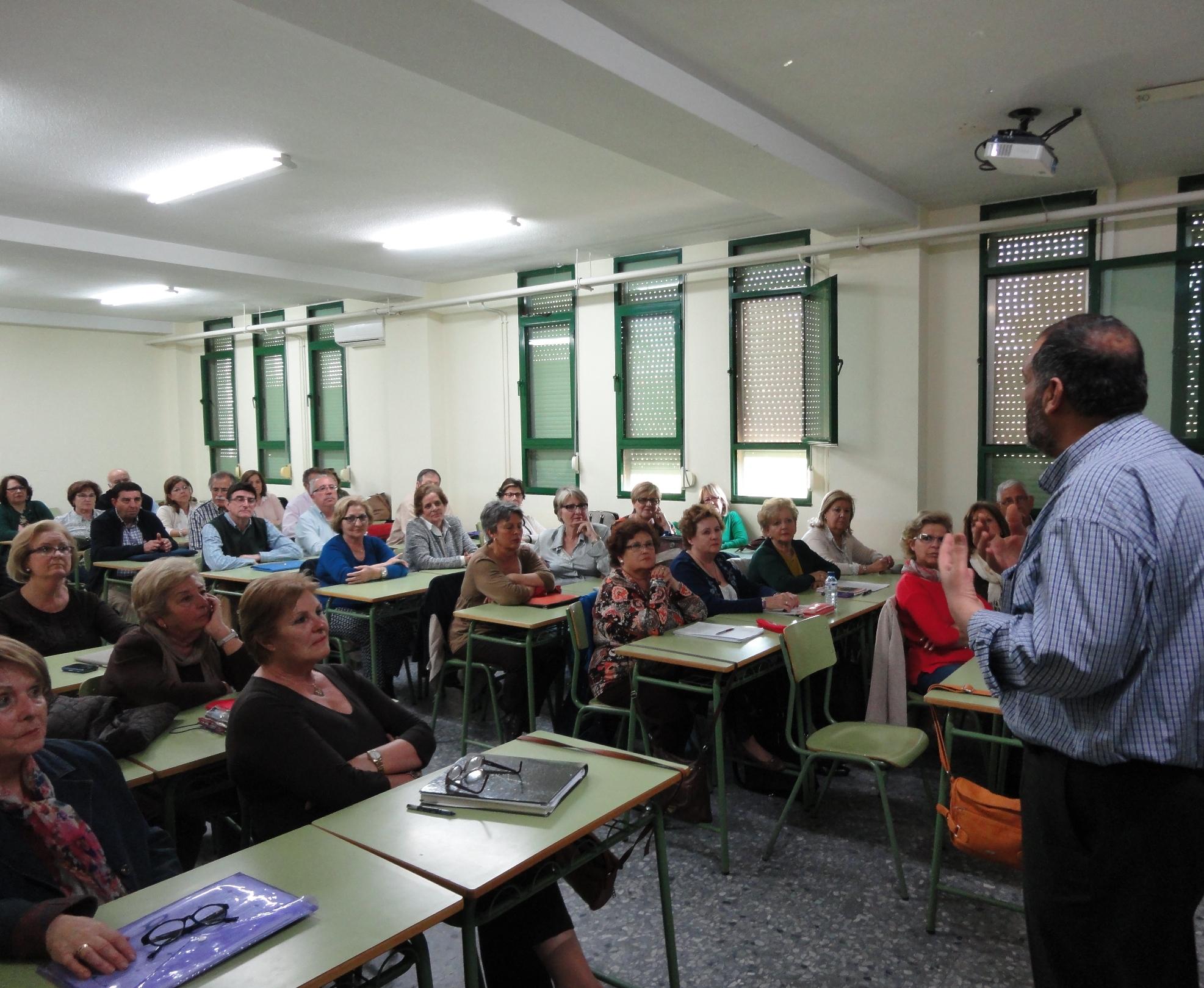 Adel Najjar diserta sobre el Islam en la Facultad de Educación