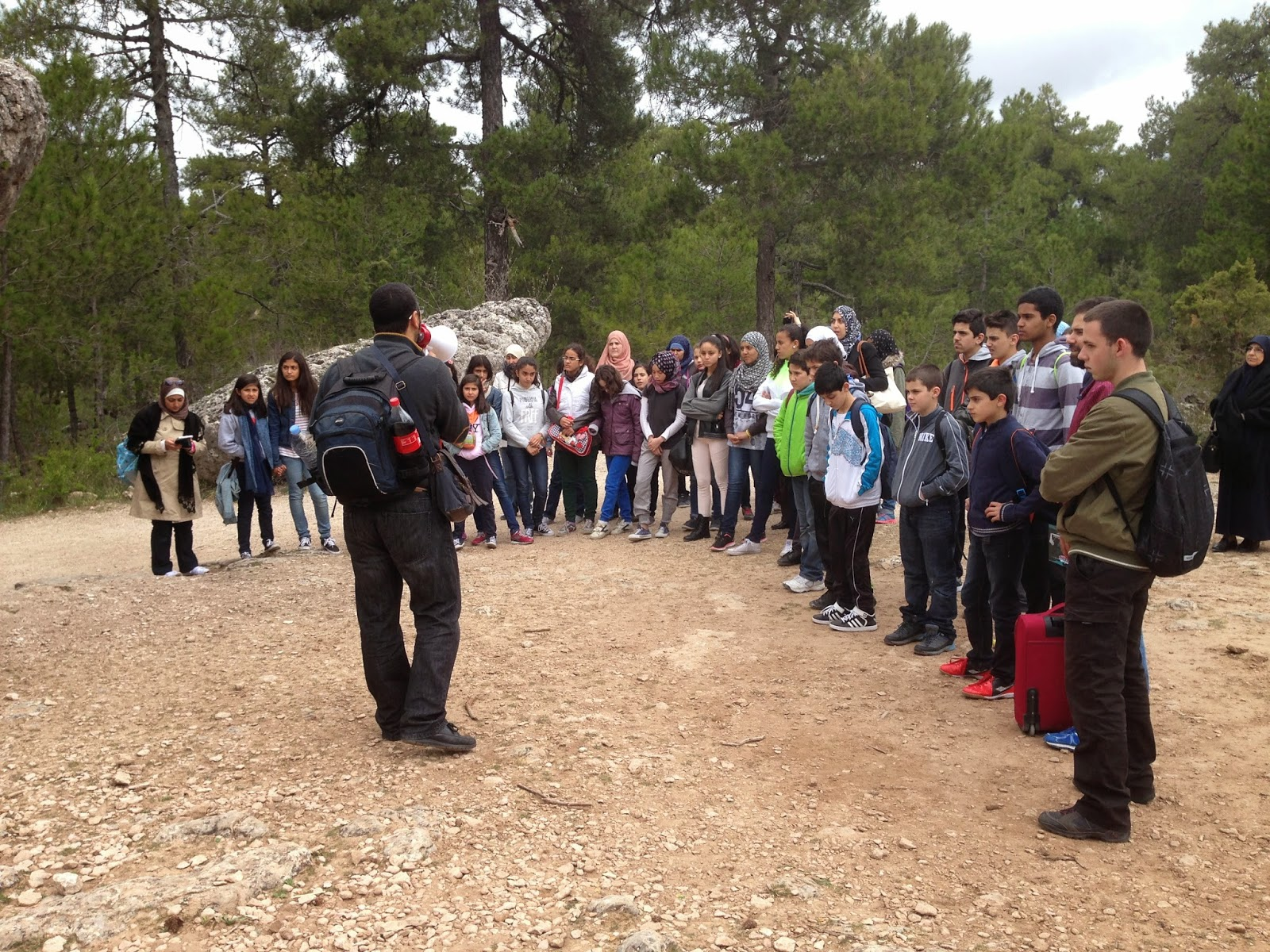 Exito de la excursión juvenil a la ciudad de Cuenca