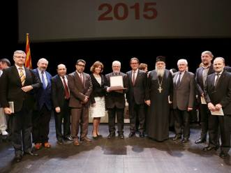 el presidente de la Generalitat entrega la Cruz de San Jorge 2015 al GTER