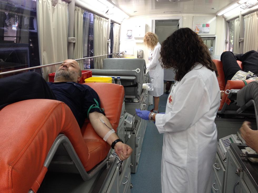 Jornada de donación de sangre organizada por la Asociación Amistad y Encuentro Interreligioso (AAEI)