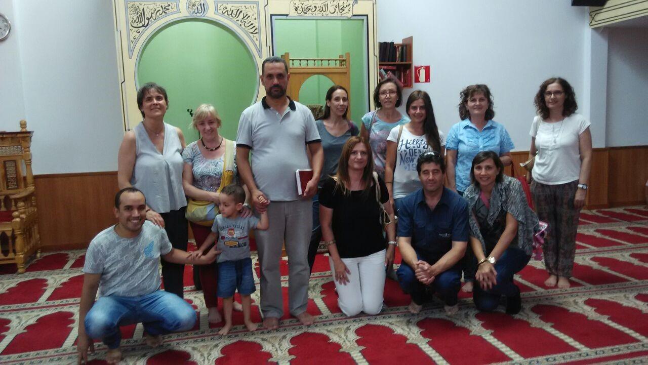 La mezquita de Terrassa abre sus puertas a la comunidad de escuela