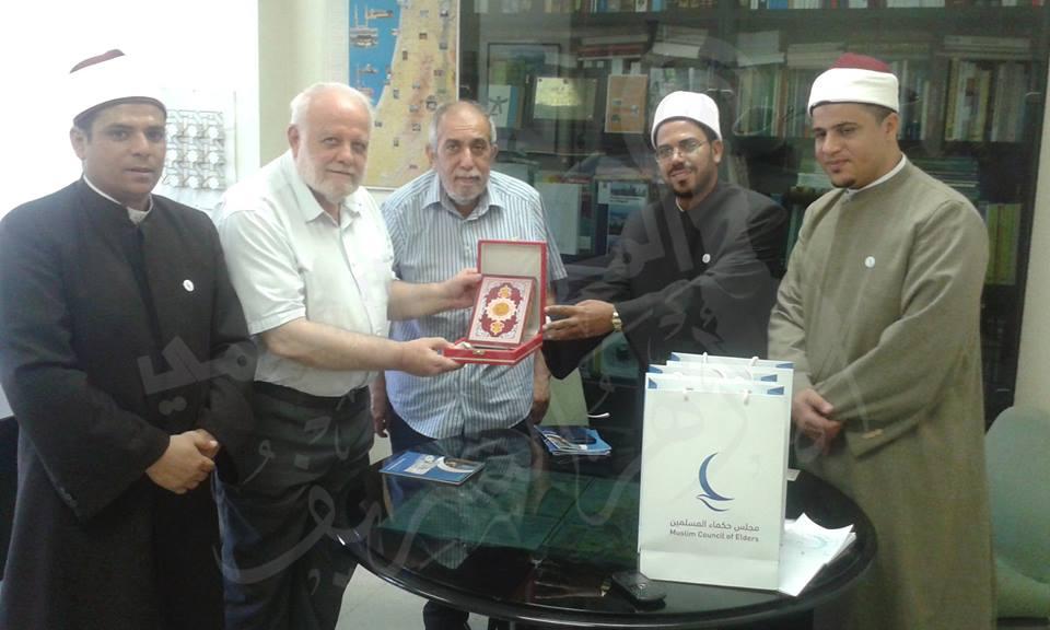 Enviados de paz del Honorable Al Azhar a España