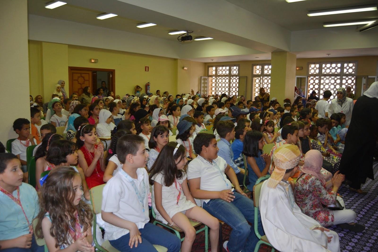 Fiesta de Fin de curso del aprendizaje del Corán en la Mezquita Central de Madrid