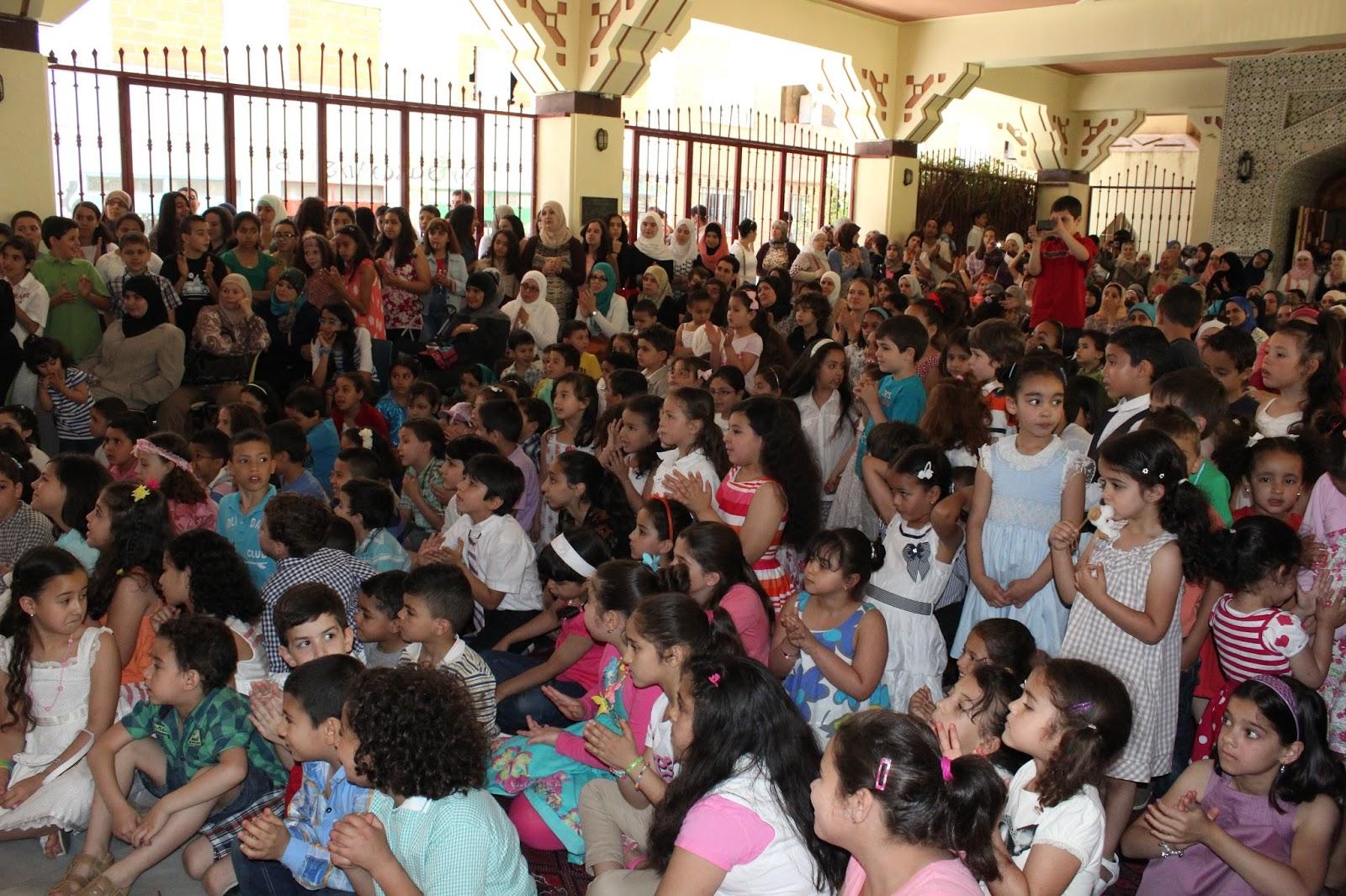 حفل نهاية العام الدراسي بالمدرسة العربية بمسجد مدريد المركزي