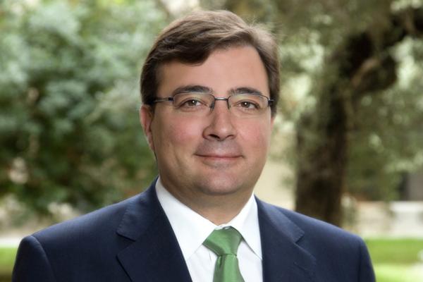 Carta de agradecimiento del Presidente de la Junta de Extremadura