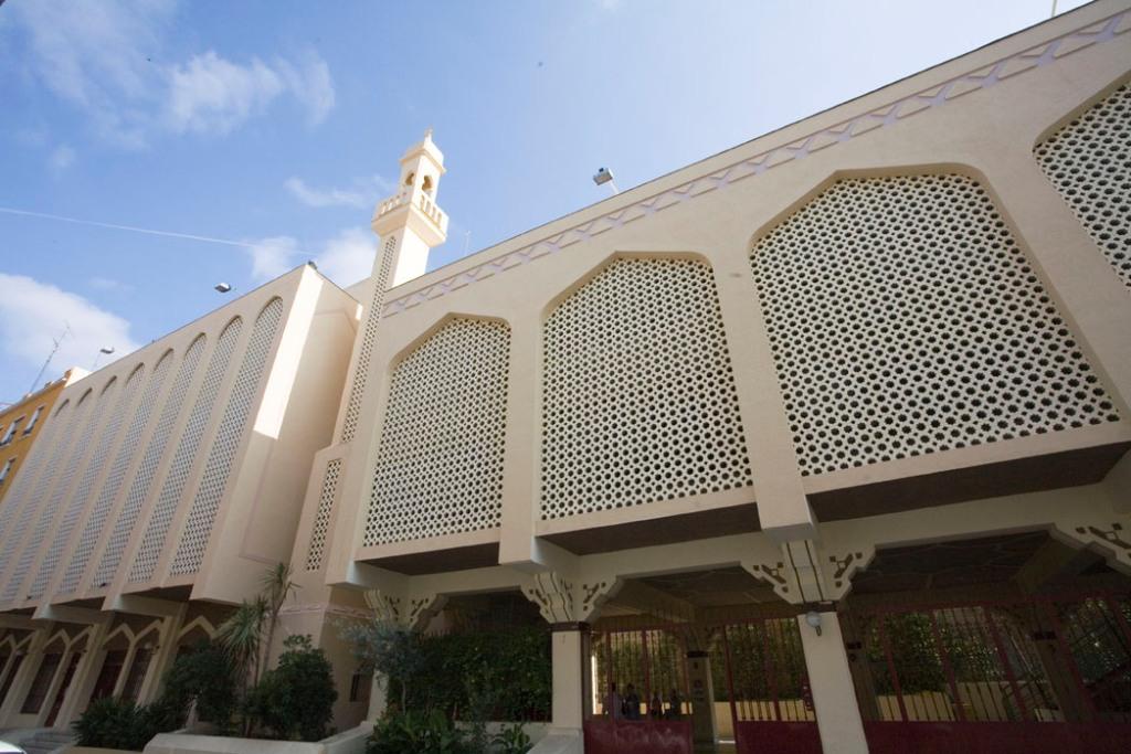 Mezquita central de Madrid ( Tetuan )
