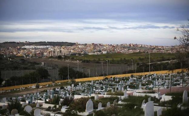 Cementerio musulmán en Melilla / REUTERS